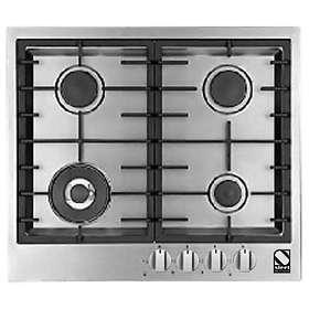 Steel Cucine Genesi GP6B-4 (Inox) Piani cottura al miglior prezzo ...