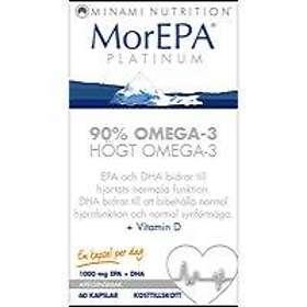 Minami Nutrition MorEPA Platinum 90% Omega-3 60 Kapslar