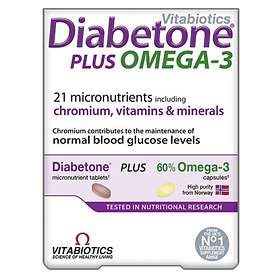 Vitabiotics Diabetone Plus Omega 3 56 Tablets