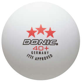 Donic 3-Star Ball White/Orange (120 bollar)