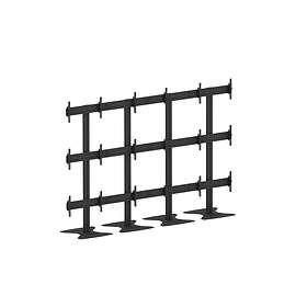 "Multibrackets M Public Video Wall Stand 9-Screens 40-55"""