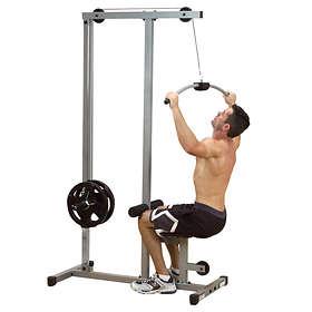 Body Solid Powerline Lat Machine PLM180X
