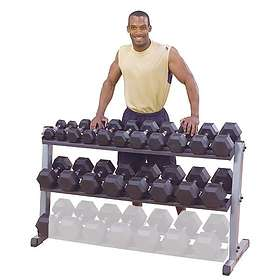 Body Solid 2-Tier Horizontal Dumbbell Rack GDR-60