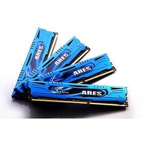 G.Skill Ares Blue DDR3 2133MHz 4x8GB (F3-2133C10Q-32GAB)