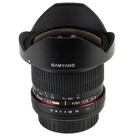 Samyang MF 8/3,5 Fisheye CS II for Samsung NX
