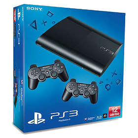 Sony PlayStation 3 Slim 12Go (+ 2nd DualShock)