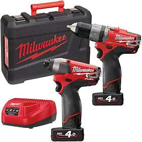 Milwaukee M12 PP2A-402C (2x4.0Ah)