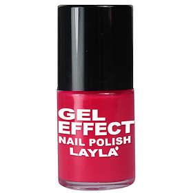Layla Cosmetics Gel Effect Nail Polish 10ml