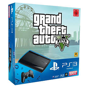 Sony PlayStation 3 Slim 500Go (+ Grand Theft Auto V)