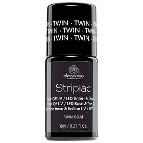 Alessandro Striplac Twin Coat Base & Top Coat 8ml