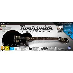 Rocksmith 2014 Edition (incl  Epiphone Les Paul Guitar) (PS3)