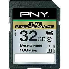 PNY Elite Performance SDHC Class 10 UHS-I 32GB