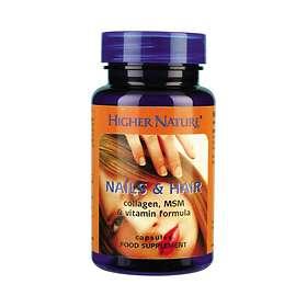 Higher Nature Nails & Hair 120 Kapslar