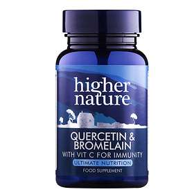 Higher Nature Quercetin & Bromelain 60 Tabletter
