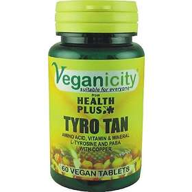 Health Plus Veganicity Tyro Tan 60 Tabletter