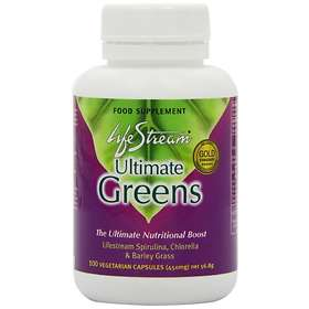 LifeStream Ultimate Greens 100 Kapslar