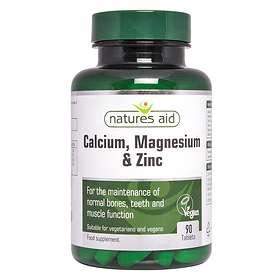 Natures Aid Calcium Magnesium Zinc 90 Kapslar