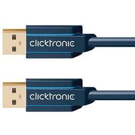 ClickTronic Casual USB A - USB A 3.0 1,8m