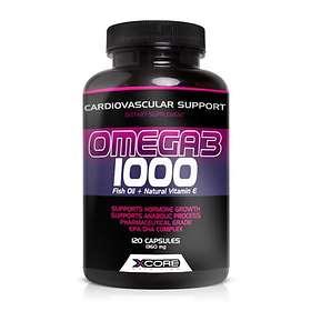 XCore Nutrition Omega 3 1000 120 Kapslar