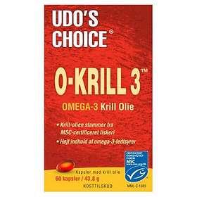 Flora Health Udo's Choice O-Krill 3 60 Kapslar