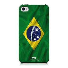 White Diamonds Flag for iPhone 4/4S