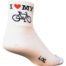 Sockguy Heart My Bike Sock