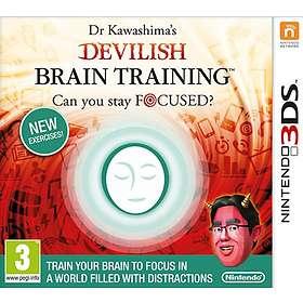 Dr Kawashima's Devilish Brain Training (3DS)