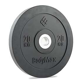 Bodymax Olympic Rubber Bumper Plate 20kg