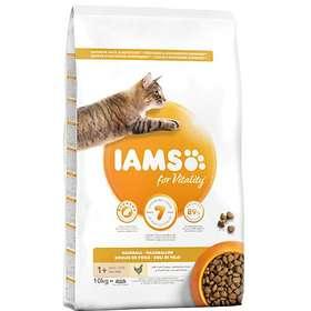Iams for Vitality Cat Adult Hairball 10kg