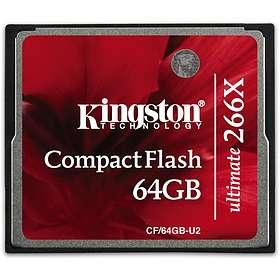 Kingston Ultimate Compact Flash 266x 64GB