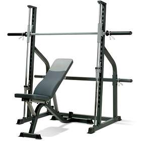 Marcy Fitness SM600 Smith Machine & Adjustable Utility Weight Bench