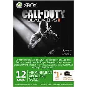 Microsoft Xbox Live Gold 12 Month Card - Call of Duty: Black Ops Edition