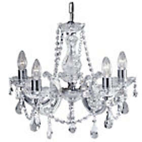 Chrystal chandeliers price comparison find the best deals on argos inspire teal chandelier 5l aloadofball Image collections