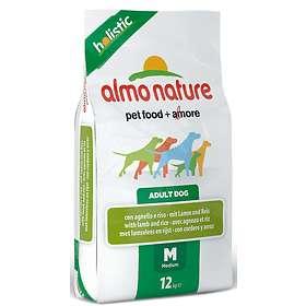 Almo Nature Holistic Adult Medium Lamb & Rice 12kg
