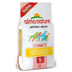 Almo Nature Dog Holistic Puppy Large Chicken & Rice 12kg