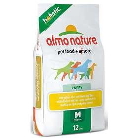 Almo Nature Holistic Puppy Medium Chicken & Rice 12kg
