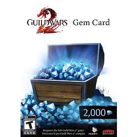 Guild Wars 2 Gem Card - 2000 Points