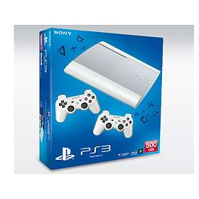 Sony PlayStation 3 Slim 500Go (+ 2nd DualShock) - White Edition