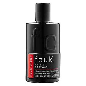 FCUK Sport Hair & Body Wash 300ml