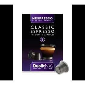 Afholte Best pris på Dualit Nespresso Classic Espresso 10st (Kapsler MF-83