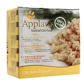 Applaws Cat Tins Chicken Deluxe 8x0,07kg