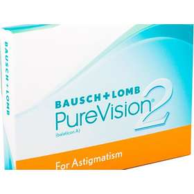 Bausch & Lomb PureVision2 for Astigmatism (3-pack)