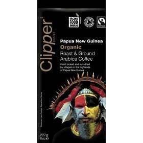Clipper Coffee Fairtrade Organic Papua New Guinea Roast & Ground 0.227