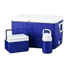 Coleman 48 Quart Combo Cooler (Blue)