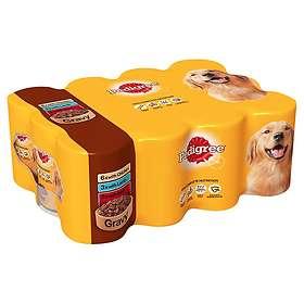 Pedigree Adult Cans Gravy 12x0.4kg
