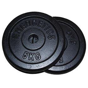 Energetics Weight Plates 2x1,25kg
