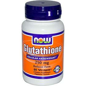 Now Foods Glutathione 250mg 60 Capsules