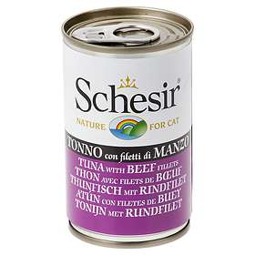 Schesir Cat Cans Tuna & Ham 6x0,14kg