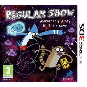 Regular Show: Mordecai and Rigby in 8-Bit Land (3DS)