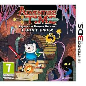 Adventure Time: Explore the Dungeon Because I DON'T KNOW! (3DS)